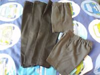 3 X School Trousers and 2 X Shorts – age 5 -6