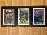 50th Anniversary Edition DC Comics Batman 3/3 Framed Collection