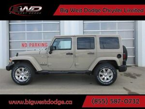 2017 Jeep WRANGLER UNLIMITED SAHARA UNLIMITED AUTO LOADED