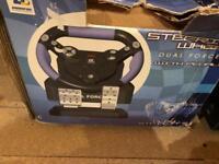 Sony PlayStation steering wheel