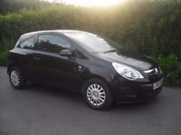 Vauxhall corsa 1.0 manual 2013 one lady owner low mileage immaculate