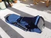 Double Golf bag travel carrier