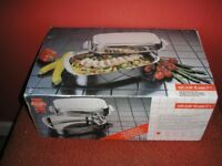 STEINBACH STAINLESS STEEL ROASTER WITH LID AND RACK NEW IN BOX
