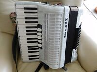 Beautiful Hohner Concerto IIIT Accordion