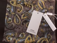 100% silk scarf by Canxishi - imported from China - brand new