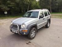 Jeep Cherokee 2.5 Diesel 4x4 manual 8 months MOT excellent condition 2002 drives superb