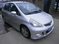 2006 HONDA JAZZ 1.4 SPORT, 5DOOR,HPI CLEAR, VERY CLEAN CAR, DRIVES VERY NICE, SPORT VERSION