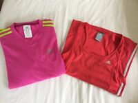 ADIDAS activewear bundle - size UK 12 and UK 8