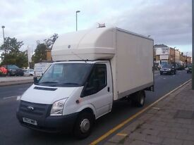 24/7 cheap man and van removals service short notice luton and large transit vans available