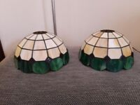 Tiffany Style Pendant Ceiling Light Shades x 2 (Matching)