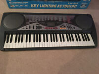 Casio LK-50 Keyboard with key lighting system. Excellent condition with original box Hardly used