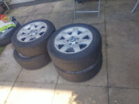 original alloy wheels for BMW style 45 , 7J , R16 , ET:47 , pcd 5x120