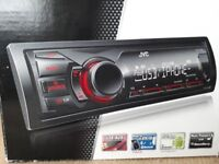 JVC KD-X200 Car MP3 radio / Android/Iphone compatible