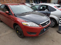 Ford Mondeo 4 Passengers wing in red 2008