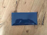 Blue and white 'Bisel' ceramic tiles