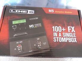 LINE 6 M5 STOMP BOX MODELLER