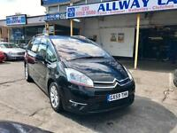 2009 59 Citroen C4 Grand Picasso 2.0 HDI. Exclusive , AUTOMATIC, ONLY 80,000 miles,