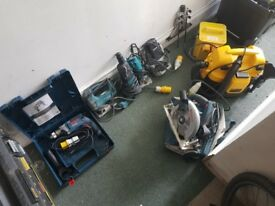 Bargain tools 110v !!