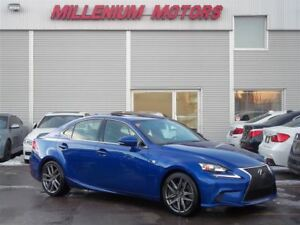 2015 Lexus IS 350 AWD F-SPORT / NAVI / B.CAM / LEATHER / SUNROOF