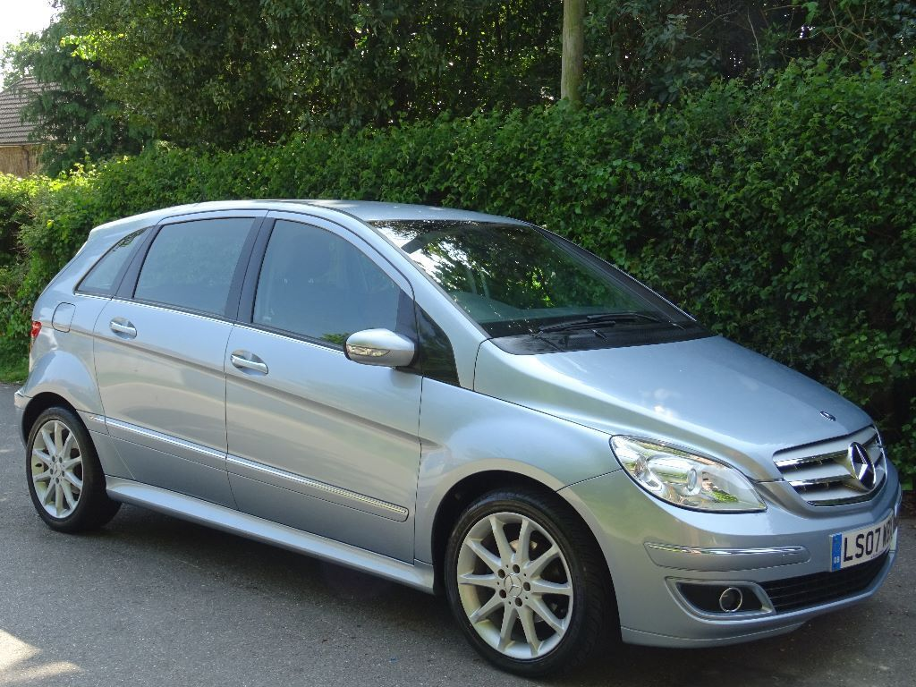 2007 07 mercedes benz b class 1 5 b150 se 5dr only 44 000 miles in poole dorset gumtree. Black Bedroom Furniture Sets. Home Design Ideas