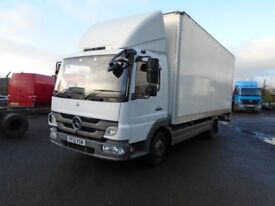 2012 MERCEDES ATEGO 816 20FT GRP BOX AND TAIL LIFT