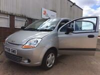 Chevrolet Matiz 2009 796cc £30 Tax Long Mot £1050 ono