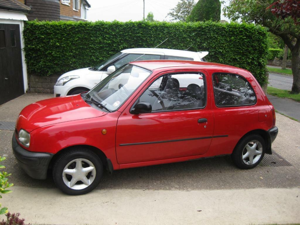 Nissan Micra Quot Shape Quot In Red 1 00 L 1996 One Lady Owner