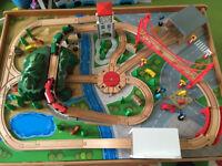 ELC Big City Wooden Train Table