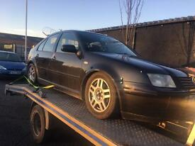Volkswagen bora 1.8 T 2003 breaking for parts all parts available