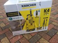 BRAND NEW BOXED KARCHER K4 PREMIUM FULL CONTROL 130 BAR PRESSURE WASHER + HOME KIT CAR POWER WASH