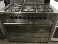 De Dietrich range gas cooker and electric ovens 100cm
