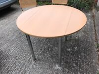 John Lewis Dining Table and Two Chairs