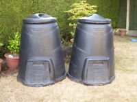 Two Composter Bins