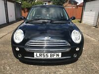 Black Mini Cooper with Rare Crono Package, FSH, MOT