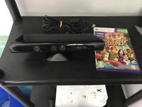 Xbox 360 Kinect and Kinect Adventures game.