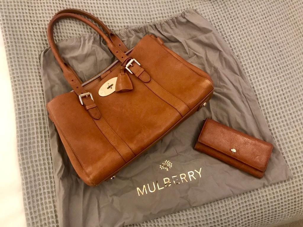 Mulberry Handbag And Purse