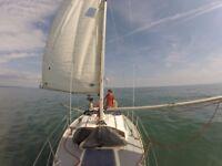 Sailing Yacht - Hustler 25.5ft