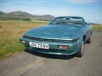 Triumph TR7 V8 Convertible in TR8 Specification