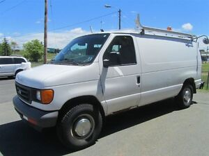 2007 Ford E-350 Cargo Van - complete with shelving!