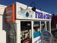 Counter Staff Required at The Blue Dolphin Fish & Chip Shop in Hemsby