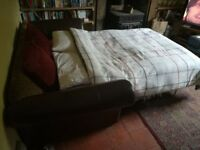 3 seater sofa bed from DFS, removable covers