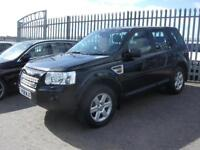LAND ROVER FREELANDER 2.2 Td4 GS 5dr Auto (black) 2008