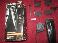 Babyliss for men 8 piece precision hair clippers