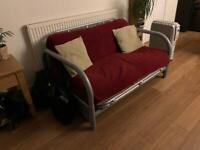2 seater futon sofa bed