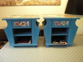 Bedside Cabinets / Grease Record Cabinets / Side Tables