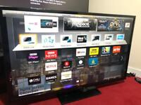 50 inches PANASONIC SMART TV WITH REMOTE IN PERFECT WORKING CONDITIONS