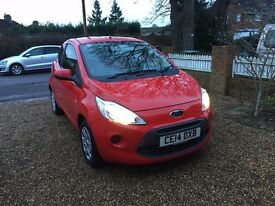 2014 FORD KA EDGE RED CAT D REPAIRED 26,000 MILES FULL SERVICE HISTORY GREAT MPG £30 ROAD TAX