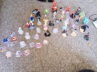 Bundle of Disney infinity 1-2-3 figures