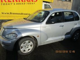 Braking complete car Chrysler PT Cruiser 2.2 crd Complete Engine EDJ , all parts available
