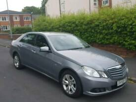 Mercedes E220 cdi 2009 6 speed Manual Full service history + new clutch and fly wheel